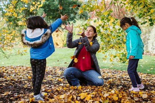 Celebrate autumn around the world with wonderful hands-on family activities at the RHS Gardens this half term, 23 – 31 October