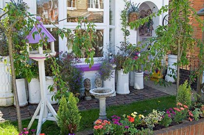 Attractive front gardens provide green inspiration