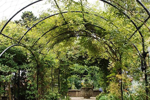 metal archway