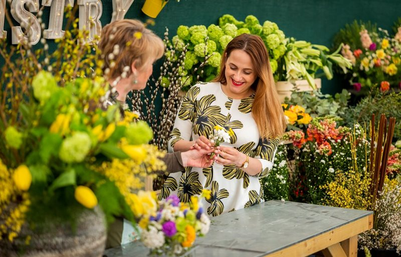 floristry marquee