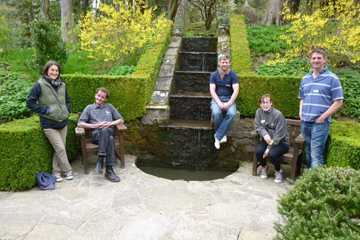 Harlow Carr's Woodland team at Parcevall Hall