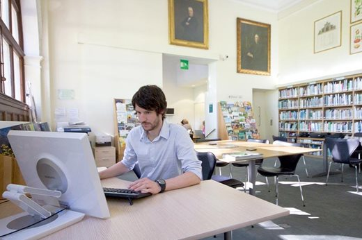 Using online resources in the Library