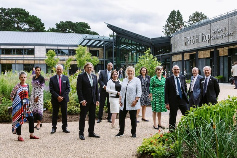 RHS Council members at the RHS Annual General Meeting 2021