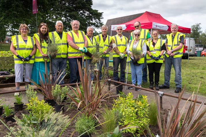 Chesterfield in Bloom community gardening group