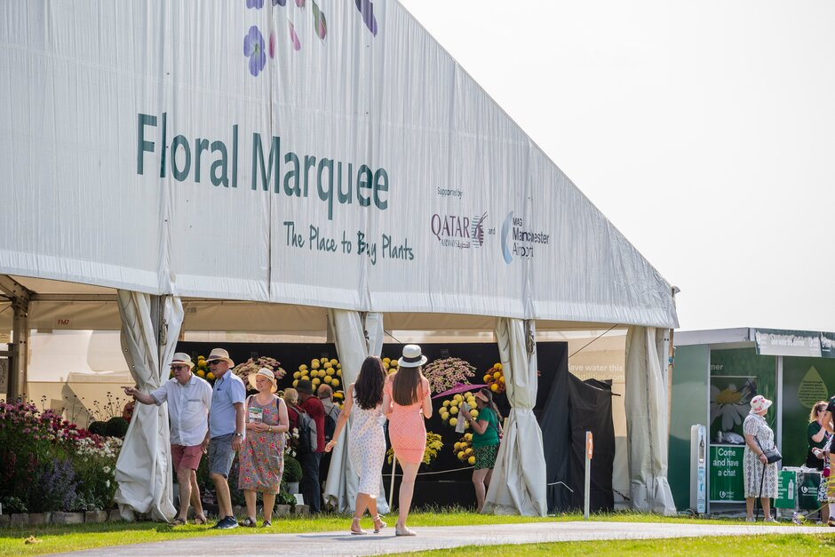 The Floral Marquee at RHS Tatton Park