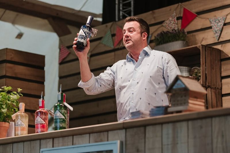 Warner's Gin in the Dig In Theatre